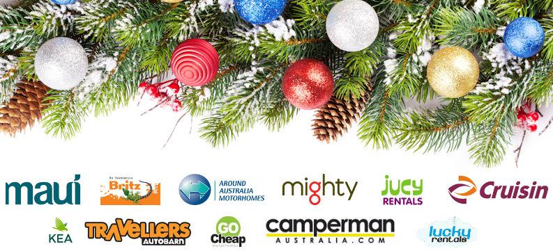 Free Hamper with each Christmas Campervan Rental Booking
