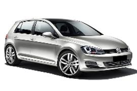 Europcar VW Golf Car Rental