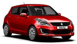 Hertz Suzuki Swift Car Hire