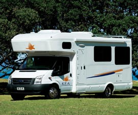 KEA 6 Berth Motorhome Hire in Australia