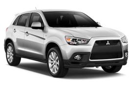 Keddy Mitsubishi ASX SUV Rental