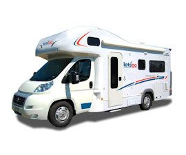 Let's Go Motorhomes - 4 Berth Campervan Hire