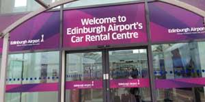 Edinburgh Airport Car Rental Centre